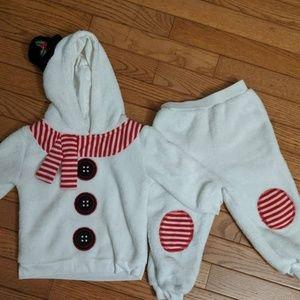 Baby Snowman 2 Piece Costume 12 - 18 Months